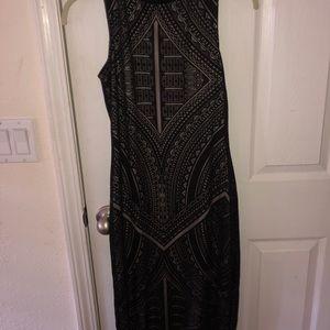 long body con dress